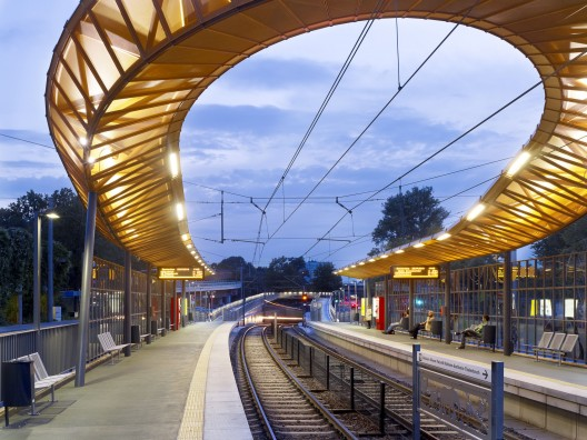 Zoo/Flora Rail Station / RÜBSAMEN+PARTNER Courtesy of RÜBSAMEN+PARTNER