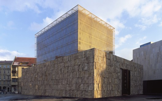 The Jewish Center in Munich / Wandel Hoefer Lorch + Hirsch  Roland Halbe