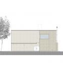 Casa MP / Estudio GMARQ South Elevation