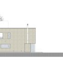 Casa MP / Estudio GMARQ East Elevation