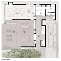 Casa MP / Estudio GMARQ Ground Floor Plan