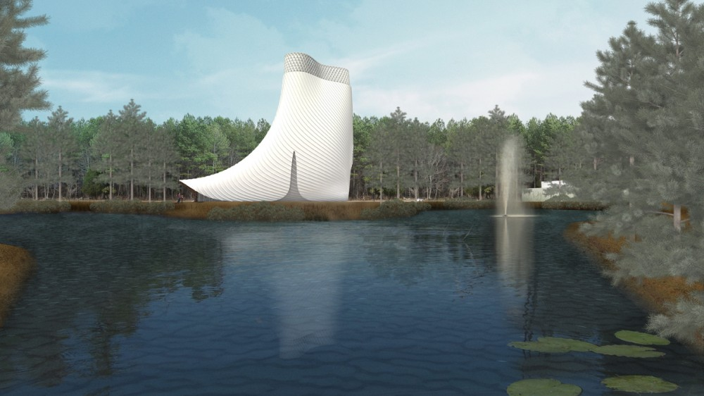 Brooks + Scarpa designs Interfaith Chapel in Florida