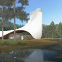 Brooks + Scarpa design Interfaith Chapel in Florida  Courtesy of Brooks + Scarpa Architects