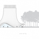 Brooks + Scarpa design Interfaith Chapel in Florida South Elevation