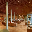Crystal Bridges Museum Store / Marlon Blackwell Architect  Timothy Hursley