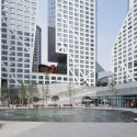 Steven Holl Architects' complete Sun-shaped Micro-City in Chengdu © Iwan Baan