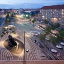 Superkilen masterplan designed by BIG + Topotek1 + Superflex Honored by AIA © Iwan Baan