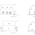 HouseH / Hiroyuki Shinozaki Architects Elevation