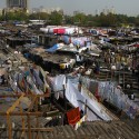 Slum Rehabilitation Promise to Mumbai&#039;s 20 Million Dhobi Ghat, Mumbai, India; Courtesy of Flickr User Jon Baldock nz; Licensed via Creative Commons