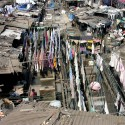 Slum Rehabilitation Promise to Mumbai&#039;s 20 Million Dhobi Ghat, Mumbai, India; Courtesy of Flickr User Laertes; Licensed via Creative Commons