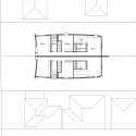 Twofold House / BKK Architects First Floor Plan