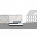 Folkwang Library / Max Dudler South Elevation