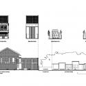 Lucky shophouse / CHANG Arquitectos Alzados y Secciones