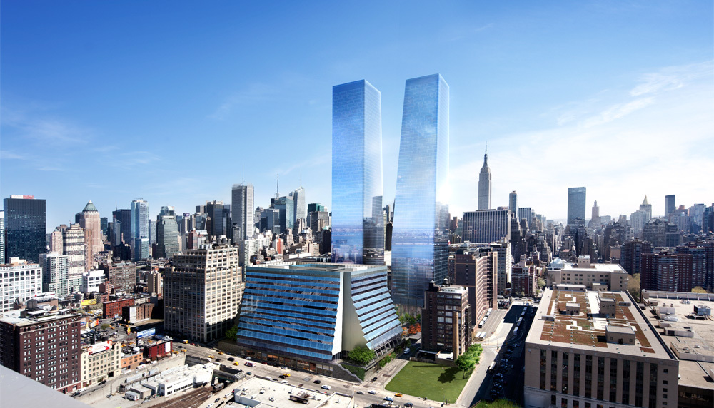 Brookfield's Manhattan West Breaks Ground
