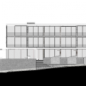 POD / Greg Wright Architects West Elevation