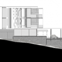 POD / Greg Wright Architects North Elevation