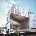 Proposals Unveiled for Kent State&#039;s new Architecture College (20) Westlake Reed Leskosky proposal; Courtesy Kent State University