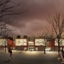 Proposals Unveiled for Kent State&#039;s new Architecture College (19) The Collaborative Inc. proposal; Courtesy Kent State University