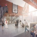 Proposals Unveiled for Kent State&#039;s new Architecture College (18) The Collaborative Inc. proposal; Courtesy Kent State University