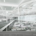 Proposals Unveiled for Kent State&#039;s new Architecture College (2) Bialosky + Partners Architects proposal; Courtesy Kent State University