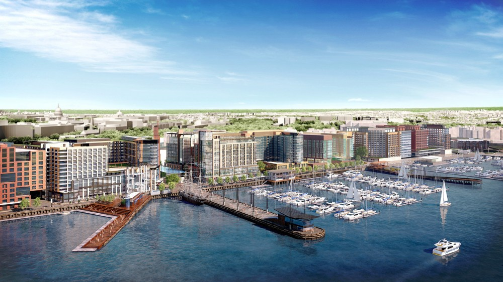Massive Waterfront Redevelopment Receives Green Light in Washington D.C.