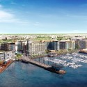 Massive Waterfront Redevelopment Receives Green Light in Washington D.C. Master Plan © Perkins Eastman