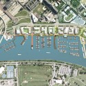 Massive Waterfront Redevelopment Receives Green Light in Washington D.C. Overall Plan © Perkins Eastman