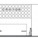 Office for Crayons / IAAD North Elevation