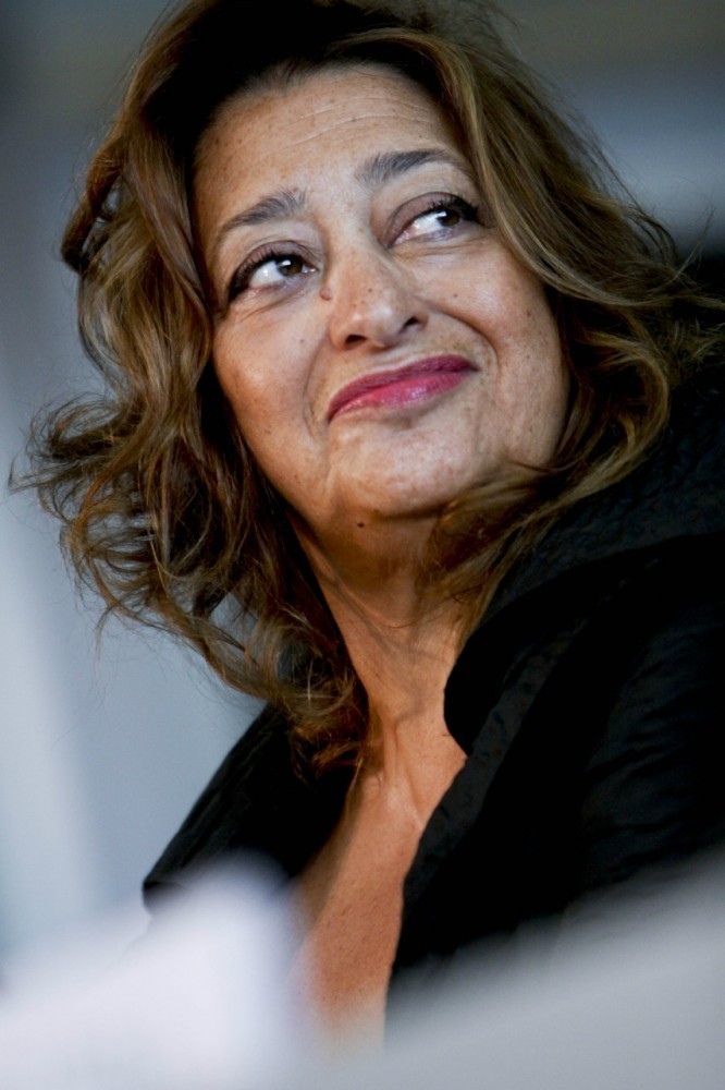 Zaha Hadid Receives Aenne Burda Award for Creative Leadership