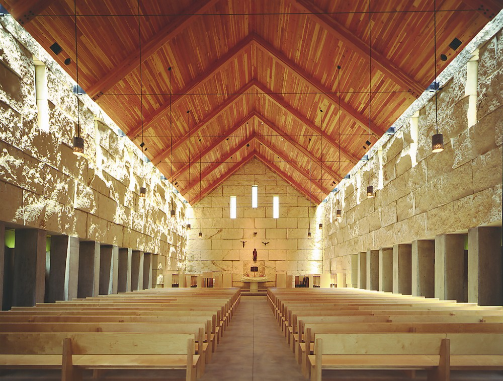 Cistercian Abbey Church / Cunningham Architects