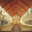 Cistercian Abbey Church / Cunningham Architects © James F. Wilson