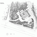 Cistercian Abbey Church / Cunningham Architects Site Plan