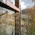Limmat Footbridge and Promenade Lift  / Leuppi & Schafroth Architekten © Roger Frei