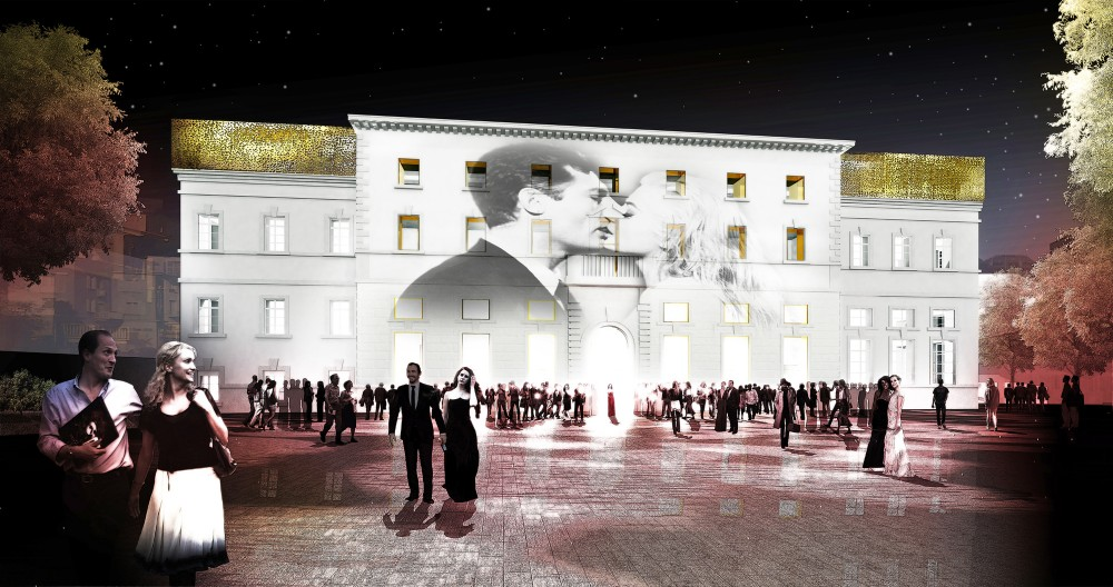 AZPA to Transform Nineteenth Century Building into Locarno Film Festival Headquarters