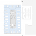 Kurt Geiger Headquarters Building / Archer Architects Fourth Floor Plan