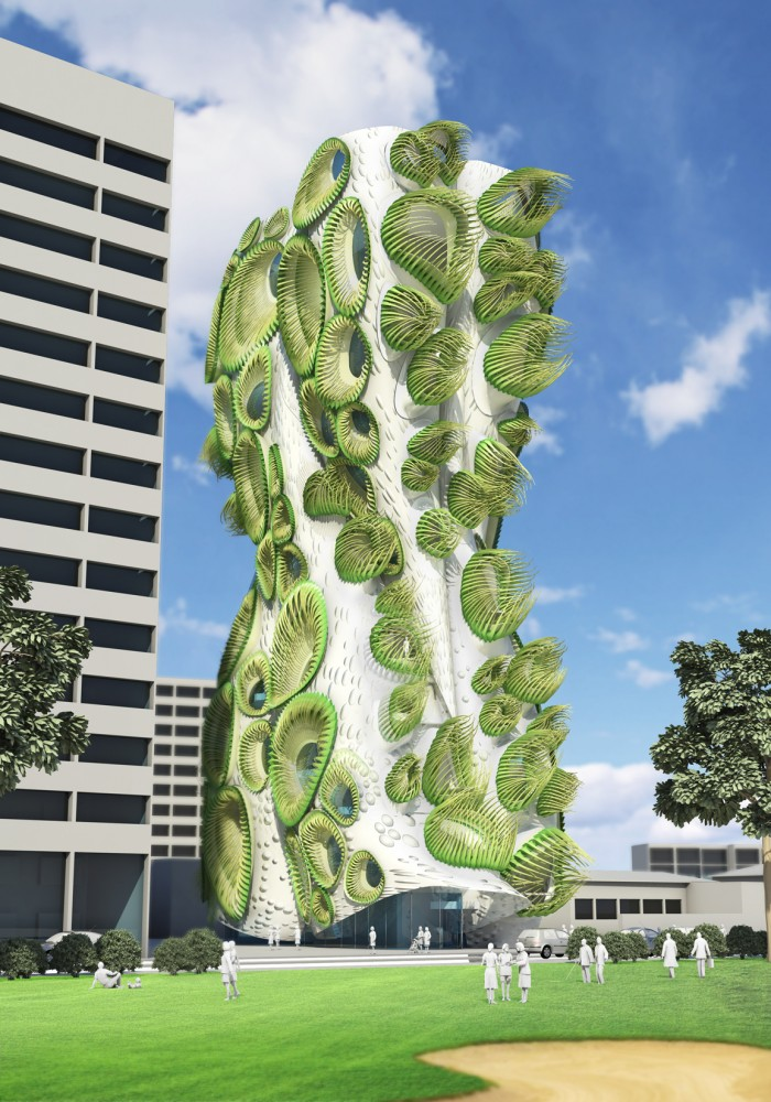 B+U&#8217;s Housing Tower Rethinks Window DNA