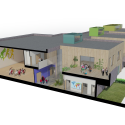 Mid-Sussex Special School / Re-Format 3D Section