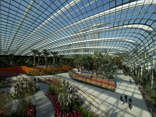Cooled Conservatories at Gardens by the Bay / Wilkinson Eyre Architects Courtesy of Wilkinson Eyre Architects