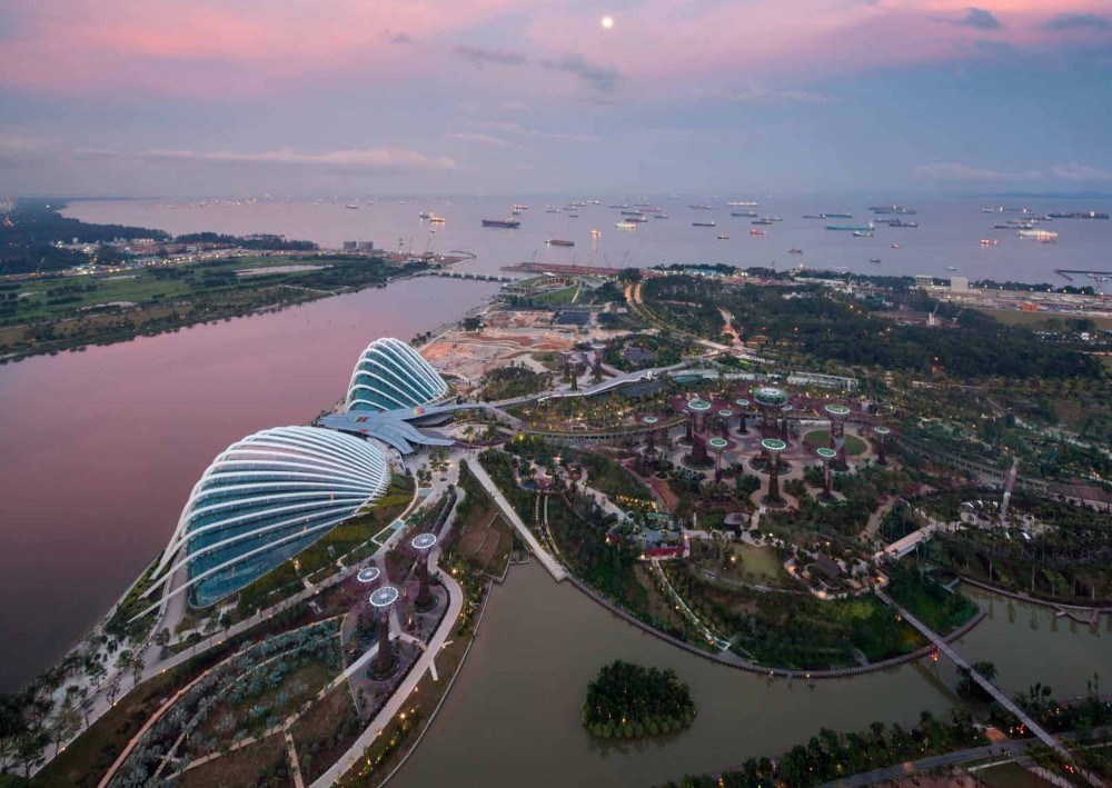 Cooled Conservatories at Gardens by the Bay / Wilkinson Eyre Architects
