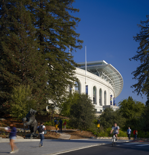 OLIN Collaborates with HNTB to Master Plan UC Berkeleys California Memorial Stadium