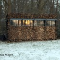 Tree-Trunk Garden House / Piet Hein Eek © Thomas Mayer