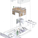 House in Shimoda-Chou / EANA Axonometric
