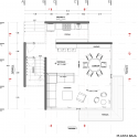 Casa Chipicas / Alejandro Snchez Garca Arquitectos Ground Floor Plan