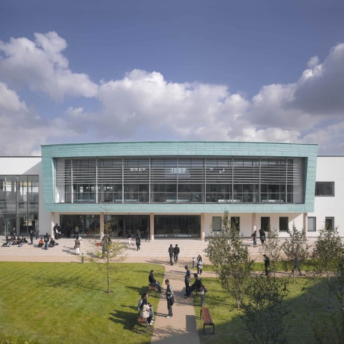 Joseph Chamberlain Sixth Form College / Nicholas Hare Architects  Alan Williams