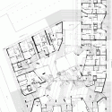 Edificio 111 / Flores Prats Ground Floor Plan