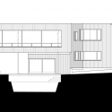 Bluff House / Robert Young West Elevation