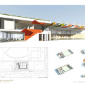 Sprach und Bewegungszentrum / eins:eins architekten 3D Section and Site Plan