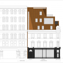 Shoreditch Rooms / Archer Architects Elevation