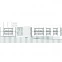 Edificio de 37 Viviendas y un Centro de Atención Primaria en Les Preses / LEP Arquitectura + XCM Arquitectura Elevation