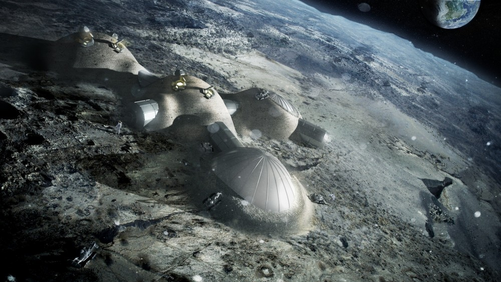 Foster + Partners To 3D Print Structures on the Moon